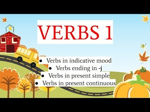 Albanian for beginners (verbs in present indicative - part 1)
