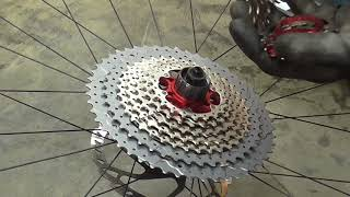 SRAM 12 Speed Conversion (Shimano Hub)!