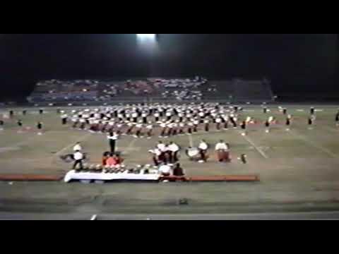 Baldwin County High School Marching Band (Bay Minette, AL) 1991 Marching Show