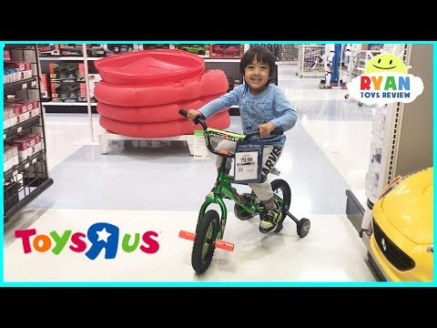 Thumbnail: TOY HUNT at TOYS R US Ryan ToysReview! Hot Wheels Thomas & Friends Family Fun Kids Playing Chase