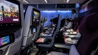 QATAR AIRWAYS A380 ECONOMY CLASS | QR830  Doha - Bangkok | FLIGHT REVIEW