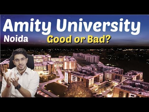 Amity University Noida | Placements | Fees | Hostel | Admission | Review | Good Or Bad?