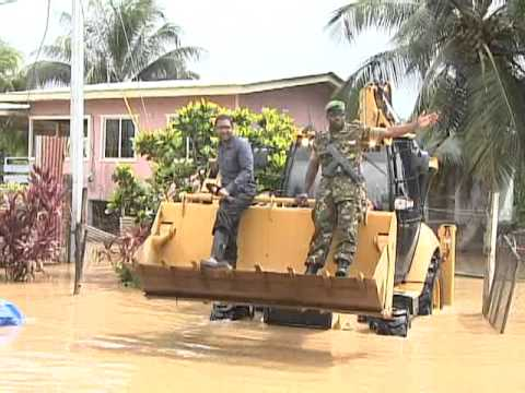 ST HELENA/ KELLY VILLAGE FLOODS  14 NOV