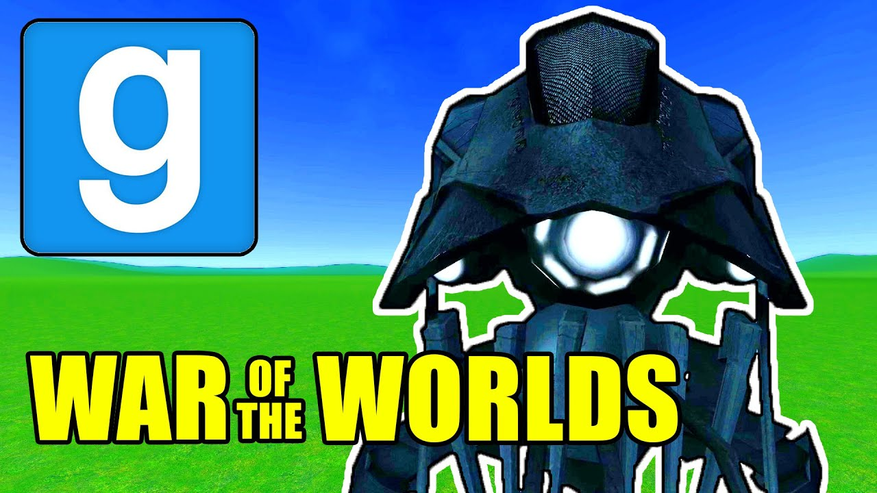Garry's Mod Next Bot - WAR OF THE WORLDS IN GMOD!!! | Comedy Gaming