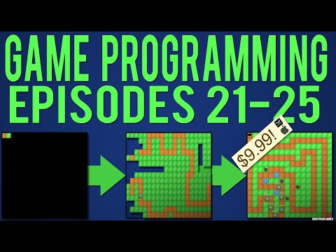 Java Game Programming Episodes 21-25: AI