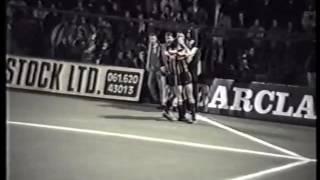 Oldham Athletic 2-2 Bradford City at Boundary Park 1989/90