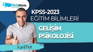 34) KPSS 2021 Eğitim Bilimleri Gelişim Psikolojisi- Kamil FIRAT Brunerin Bilişsel Gelişim Kuramı
