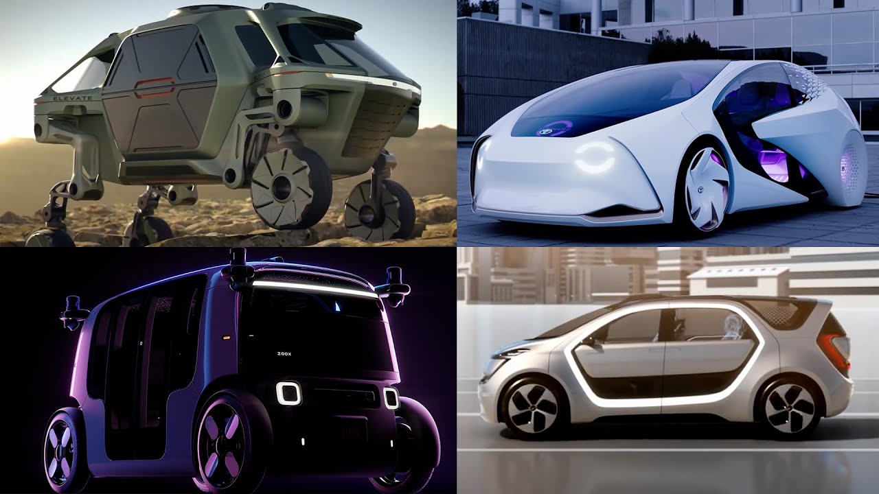 Self Driving Concept Cars! See what the Future looks like