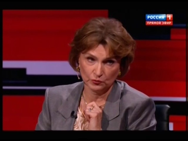 Нарочницкая на программе Вечер с В Соловьевым 10 11 16