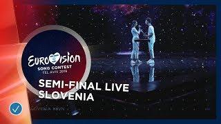 Slovenia - LIVE - Zala Kralj & Gasper Santl - Sebi - First Semi-Final - Eurovision 201 ...