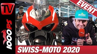 SWISS-MOTO - Motorradmesse Zürich 2020. Eventvideo mit 1000PS