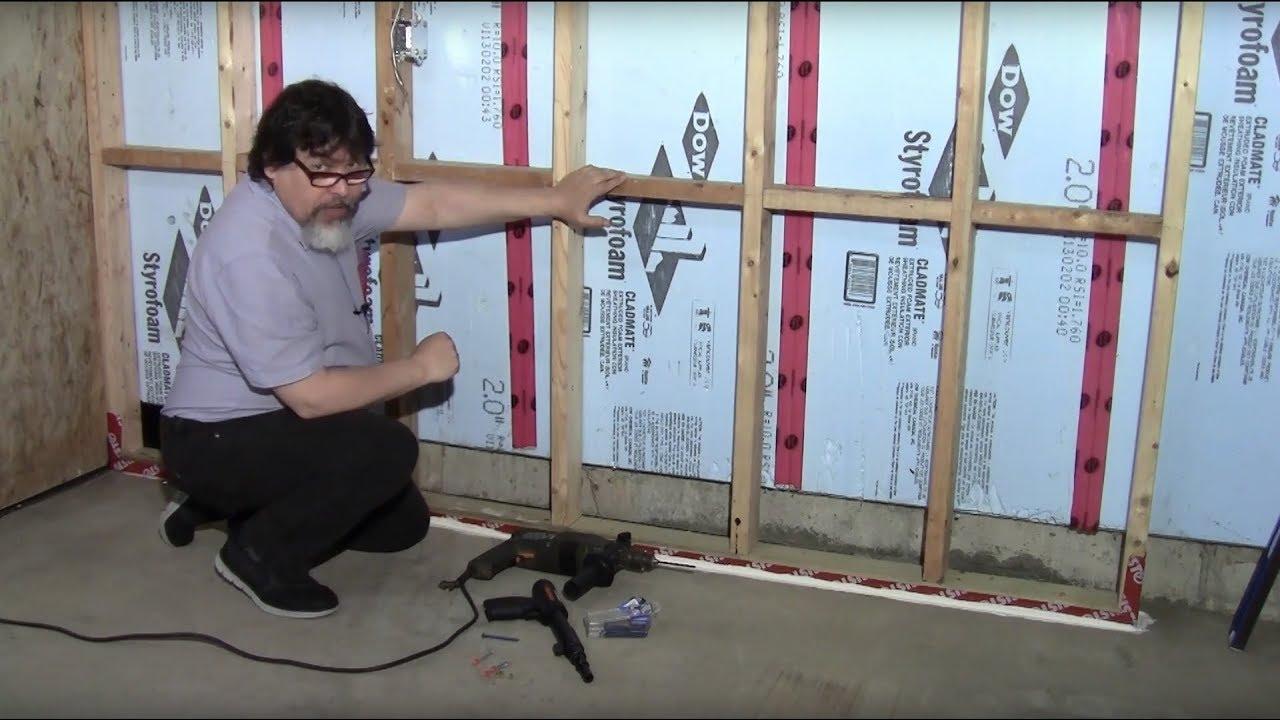 Mur Osb Garage Youtube
