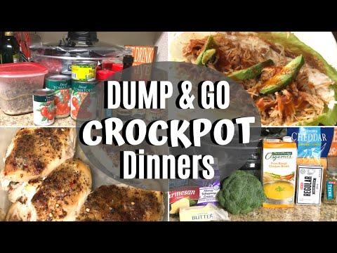 DUMP & GO CROCK POT MEALS | Quick & Easy Low-Carb Slow Cooker Recipes