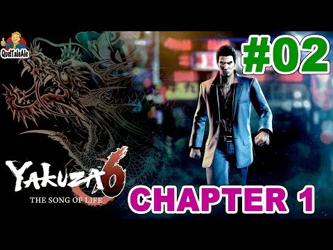 YAKUZA 6 The Song of Life - Gameplay ITA -#02 - [Chapter 1] - The Prince of freedom