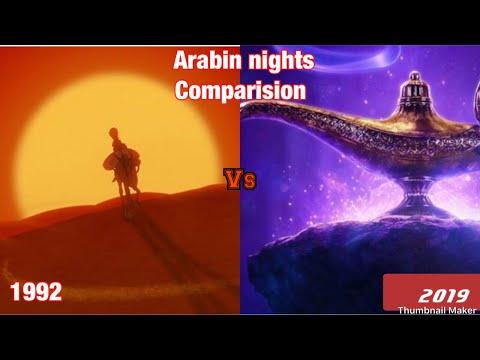 Arabian Nights ,1992 Vs 2019