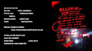 Hindia - Secukupnya (Official Lyric & Commentary Video)
