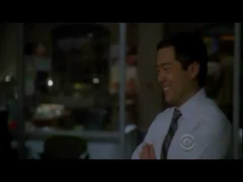 "Cho, Rigsby, kid final scene - ""Check your pockets."""
