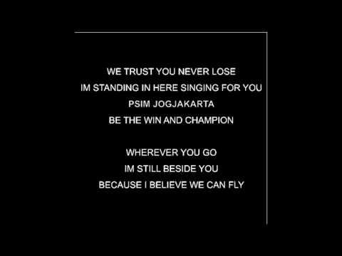 We trust You Never Lose Lirik