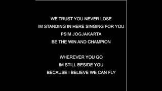 We trust You Never Lose Lirik MP3