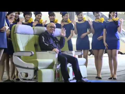 Budget airline under fire over flight attendants' short skirts