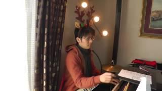 やってみました!クリスマスまでに練習してもう一回録音します!