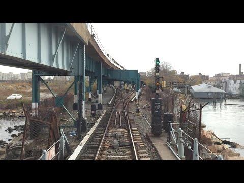 NYC Subway HD 60fps: Budd R32 A Train Round Trip Railfan Window Ride (Grant Ave to Far Rockaway)