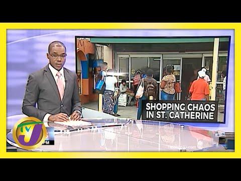 Chaos & Frustration Before Weekend Lockdown in Jamaica | TVJ News