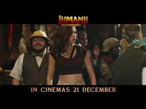 Jumanji: Welcome to the Jungle - in cinemas 21 December