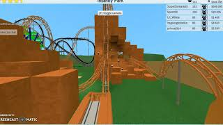 Roblox TPT2- All of my Coasters