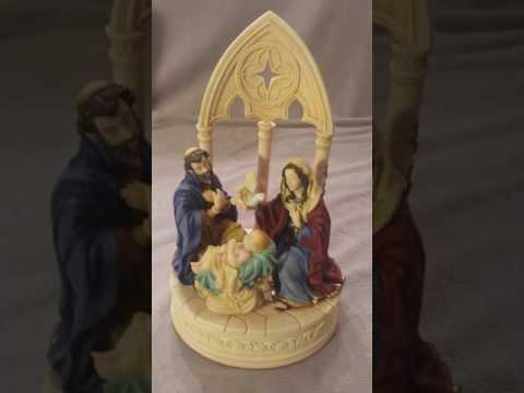 "The San Francisco Music Box ""Nativity Figurine"""