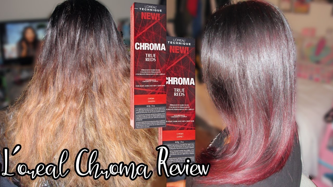 loreal chroma true reds