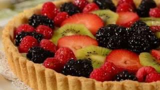 Fruit Tart Recipe Demonstration - Joyofbaking.com