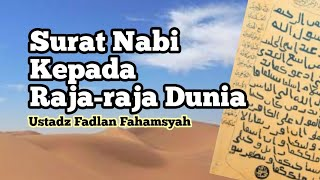 Download 🔴[LIVE] Sejarah Nabi (28): Surat Nabi Kepada Raja-Raja - Ustadz Fadlan Fahamsyah LC.MH.I