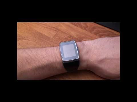 LG GD910 : smartwatch phone call.wmv