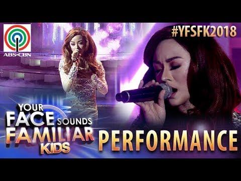Your Face Sounds Familiar Kids 2018: Sheena Belarmino as Jessa Zaragoza | Bakit Pa