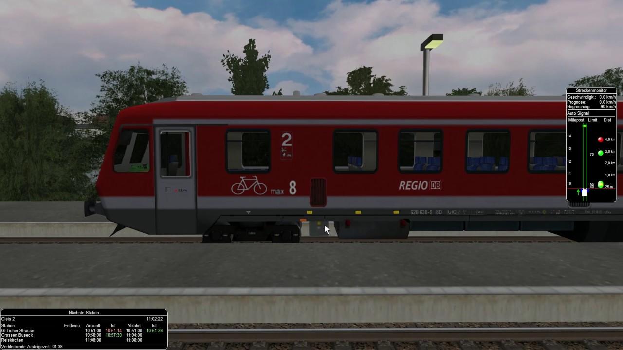 Msts Pro train