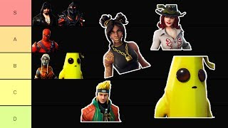 Fortnite Season 8 Skins Tier List