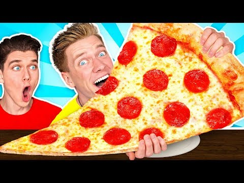 5 Giant DIY Foods Challenge & How To Make The Best Avengers