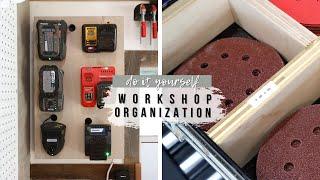 3 Easy DIY Workshop Organization Projects (With Scrap Wood)!