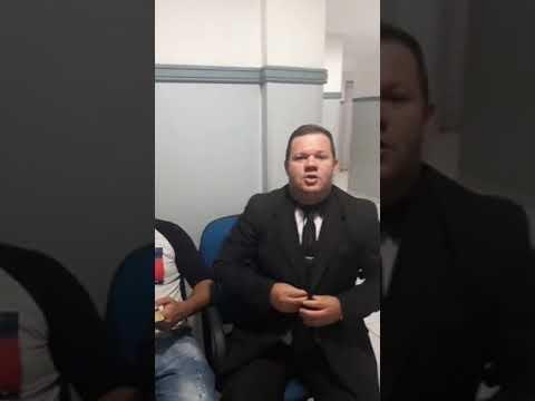 Irmão Wellington Ferreira Pregando A Palavra De Deus Com O Tema  - O Deus Que Ouve O Gemido Do Neces