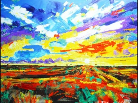 art-lesson:-how-to-paint-an-abstract-landscape