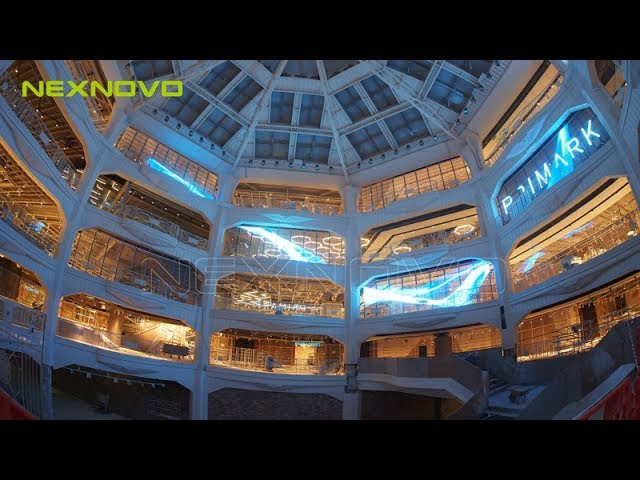 Transparent LED Display / PRIMARK / Shopping mall Digital