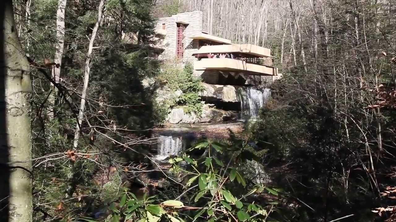 Fallingwater casa sulla cascata frank lloyd wright for Frank lloyd wright casa della prateria