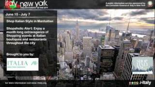 New York in Italy: Shop Italy NYC