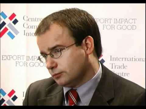 Interview with Gareth Thomas, Minister of State, UK, WEDF 2008