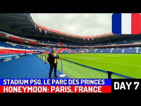 STADIUM PARIS-SAINT GERMAIN (PSG), LE PARC DES PRINCES | Honeymoon: Paris, France - Day 7