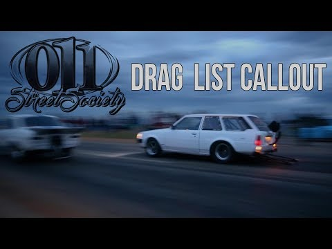 011 Street Society Drag List Callout