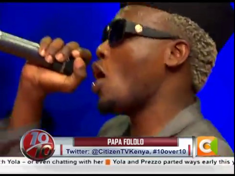 Daddy Owen unveils new song #Tazama on #10Over10