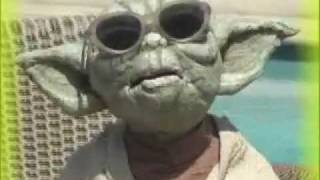 Puppet Greetings yoda look-a-like video ecard happy birthday