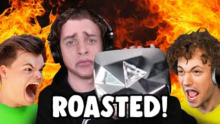 I GOT ROASTED By My FRIENDS For HITTING 10 MILLION SUBSCRIBERS!